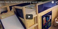 Amazing Ikea bed hack!!