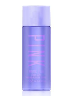 Victoria's Secret Pink More Fun Body Mist Spray Ounces Retired Fragrance Purple: Victoria's Secret Pink Body Mist 250 mL / fl oz More Fun Pink Body, Pink Nation, Mist Spray, Body Mist, Athletic Outfits, Body Spray, Victoria's Secret Pink, More Fun, Body Care
