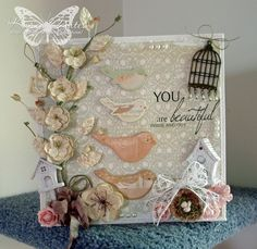 Prima Bird Chipboard from the Song Bird Collection