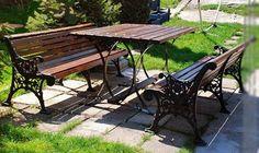 www.acelkft.hu   Termékeink / Öntött fém kerti ülőgarnitúrák