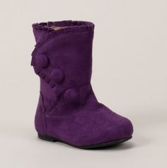 Boot with Buttons and Ruffles - Toddler Fashion Boots Beautiful Baby Girl, Pretty Baby, Cute Baby Girl, My Girl, Cute Kids Fashion, Toddler Fashion, Toddler Girl Style, Toddler Boots, Hunter Shoes