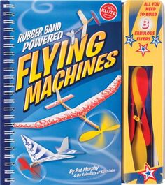 Klutz Rubber Band Powered Flying Machines Kit - List price: $19.95 Price: $16.00 Saving: $3.95 (20%)