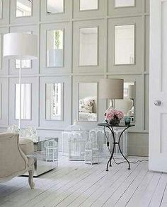 Wall of mirrors! Love!
