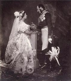 Photo of Queen Victoria and Prince Albert by Roger Fenton