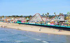 Santa Cruz Beach & Boardwalk, Santa Cruz - The 15 Best Beaches in California | Travel + Leisure
