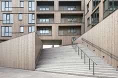 The Waterfront   Stavanger   Norway   Residential 2014   WAN Awards One of the world's biggest wooden buildings.