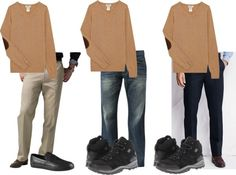 Creating a Mix and Match Travel Wardrobe for Men #packingtips #traveltips #budgettravel