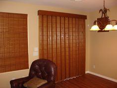 Operate just like a drapery, softly f. Windows, Paneling, Wood Shades, Window Styles, Drapery Treatments, Home, Drapery, Woven Wood, Home Decor