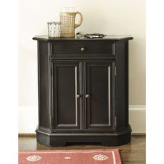 I have a cabinet just like this that I want to paint....I think I'll do it black or DARK DARK Gray.