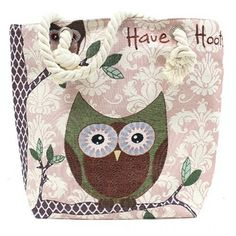 Rope Handle Bag - Have a Hoot Laukku