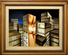 Juarez Machado, Cidade - tm - dat. 1982 - med. 70 x 100 cm