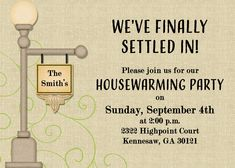 Simple and severely sweethousewarming presents is going to be a introduction improvement to whatever new abode. Housewarming Invitation Templates, Rustic Invitations, Invitation Wording, Invitation Design, House Warming Party Invites, 30th Birthday Ideas For Women, Birthday Woman, Graduation Invitations, Invitations