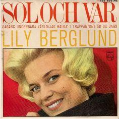 """Coverversion af """"Sol och vår"""" - overbevindende fremført af Lily Berglund. Både plade og omslaget er meget (!) slidt. Vil gerne låne pladen, hvis der er nogen, der hqr den i en ok-tilstand."""
