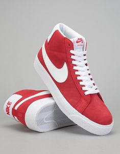 online store 8d23a 6b6cc Nike SB Zoom Blazer Mid Skate Shoes - University Red White
