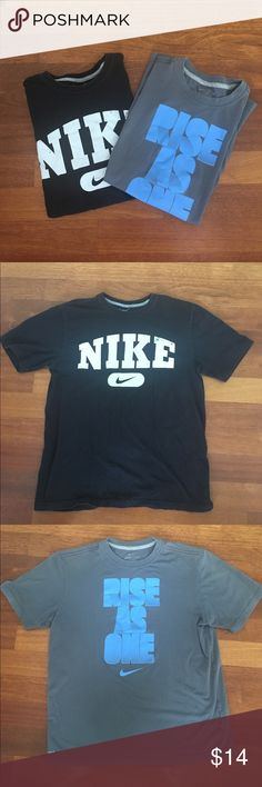Men's M/L Nike T-Shirt bundle. EUC Excellent used condition. Men's size M and Large Nike Tee bundle. 30% off bundles of 2 or more listings from my closet. Nike Shirts Tees - Short Sleeve