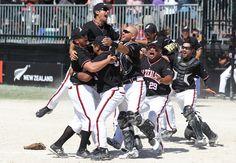 2013 – Auckland, New Zealand ISF Men's World Championship – Gold Medal- Softball Black Sox