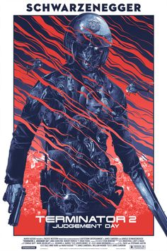 Grey Matter Art will release a new poster for Terminator 2 by Gabs next week.