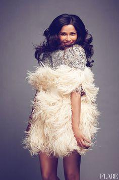 flare fashion tumblr | Freida Pinto - October 2011 / Fashion Director: Elizabeth Cabral / Art ...