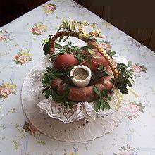 Święconka – Wikipedia, wolna encyklopedia