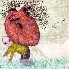 """Whitemonkey Design - """"Schweres herz"""" (heavy heart)"""