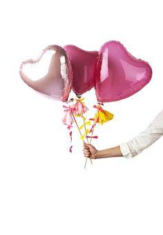 pink heart balloon kit by #poppiesforgrace