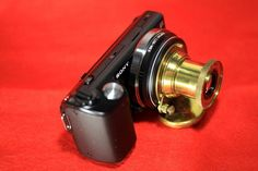 NEX-5 × old Leica