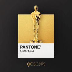 Pantone ~ Oscar Gold