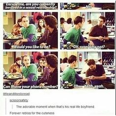 i have no idea when in the show this is from but thats cute as heck Funny Cute, The Funny, Hilarious, Narnia, Gossip Girl, Sherlock, Fandoms, Faith In Humanity, Big Bang Theory