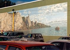 My favourite of the series of murals along Kingston on the way to the Scarborough Bluffs Up & Down Stroll (Stroll #13 in my walking guide Toronto Urban Strolls 1).