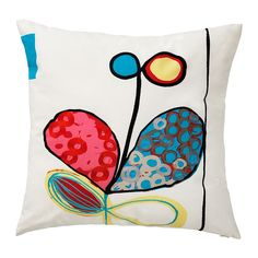 Check out this wonderful cushion EIVOR KVIST from IKEA. Fab for a kids room.