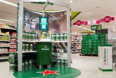 Heineken's Virtual Draught Display Lets Beer Drinkers Get Electronic #drinking #experiences trendhunter.com
