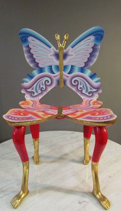 Pedro Friedeberg Butterfly and Foot Chair, Full-Size, Mexico City,1973 3