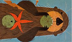 The Animal Kingdom - written by George S. Fichter, illustrated by Charley Harper (1968).