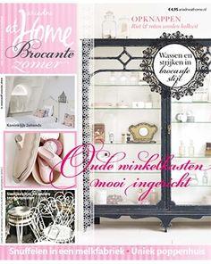 ariadne at home Brocante zomer 2013 #magazine #summer #brocante #shabby