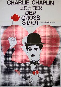 City Lights (Charlie Chaplin, 1931) 1970 German re-release design
