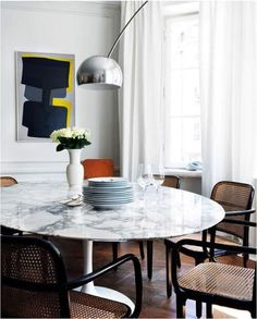 Modern dining room - picture
