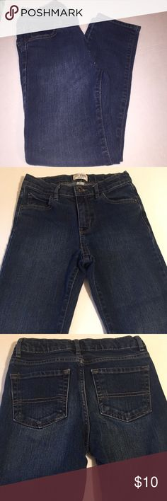 ⚾️Boys Jeans🏈 The children's place size 8 skinny jeans! Perfect condition. Dark blue. Children's Place Bottoms Jeans
