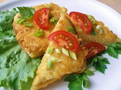 V kuchyni vždy otevřeno ...: Celerové smaženky Bruschetta, Tacos, Good Food, Toast, Mexican, Chicken, Cooking, Ethnic Recipes, Diet
