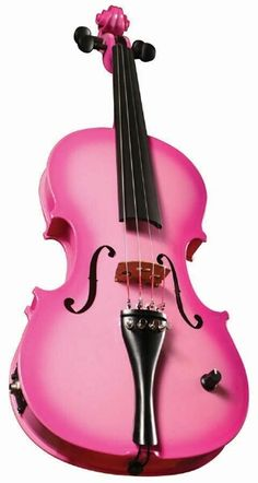 Pink Violin. #pinkish #pinklove #violin http://www.pinterest.com/TheHitman14/hey-ladies-pink-love-%2B/