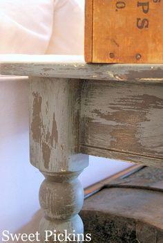 Paint Technique for furniture re-do