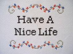 PDF: Have A Nice Life