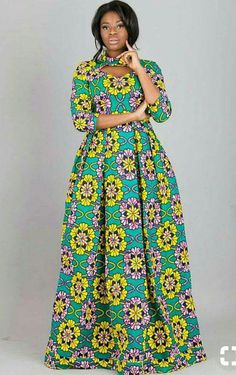 16 20 Gorgeous Ankara Gown Styles & Ideas On How To Wear Them Long African Dresses, Ankara Long Gown Styles, African Print Dresses, Ankara Gowns, Ankara Styles, Long Dresses, Long Gowns, African Dress Designs, Ankara Dress Designs