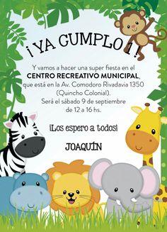 ¡Ya cumplo 1año! Y te invito a mi fiesta de cumpleaños este sábado 16 de junio en Manuel Sánchez 6086 Quinta Normal Los esperamos a todos                 VICENTE