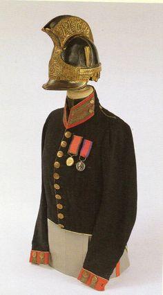 Royal Horseguards Off kit worn at Waterloo. Battle of Waterloo on 18 June 1815.