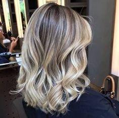 Resultado de imagem para ombre hair loiro perolado