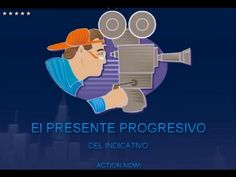 THE SPANISH PRESENT PROGRESSIVE (1/3)- Video explanation in English with Spanish examples Spanish Grammar, Spanish 1, Teaching Spanish, Spanish Classroom, Classroom Ideas, High School Spanish, Flipping, Languages, Videos