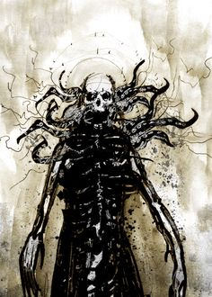 Skeletal Lust — ACEO : The Father of Nothing -concept- by...