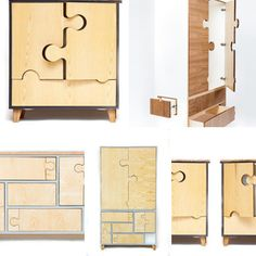 Puzzle Storage by Seed Furniture