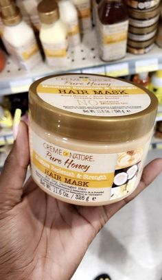 Creme of Nature Pure Honey Line -  This product is great for thick, dry natural ... - #creme #Dry #great #honey #Line #natural #nature #product #Pure #thick #CoconutOilHairCare Best Natural Hair Products, Natural Hair Care Tips, Curly Hair Tips, Natural Haircare, Curly Hair Care, Natural Hair Growth, Natural Hair Journey, Curly Hair Styles, Natural Hair Styles