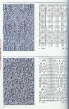 Я очень люблю вязать. И за долгие годы вязанияу меня накопилось множество схем, узоров вязания. Сегодня хочу поделиться с вами узорами спицами! Если вам что-то пригодится, мне будет очень приятно!